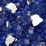 Golden Flame 20-Pound (Fire Glass) 1/2-Inch Cobalt