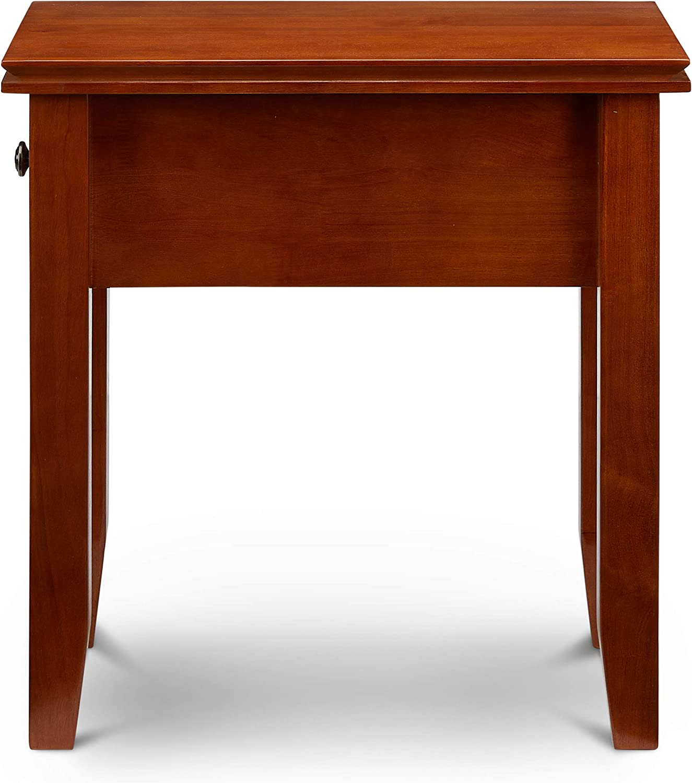 Civet Home Narrow End, Side Table, Honey Brown