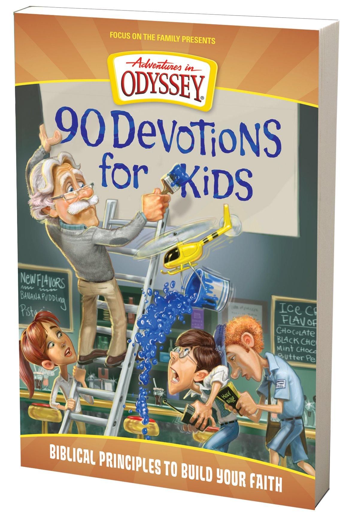 90 Devotions for Kids (Adventures in Odyssey Books): AIO Team:  9781589976825: Amazon.com: Books