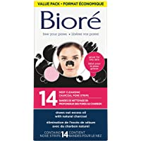 Bioré® Deep cleansing Charcoal Pore Strip Value Pack 14-Count