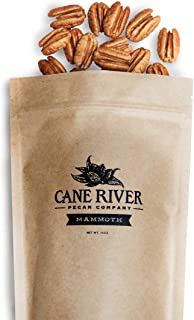 product image for Mammoth Desirable Pecan Halves, 1 pound bag, bundle of two - Cane River Pecan Co.