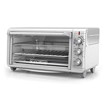 Black+Decker TO3265XSSD Air Fry Toaster Oven