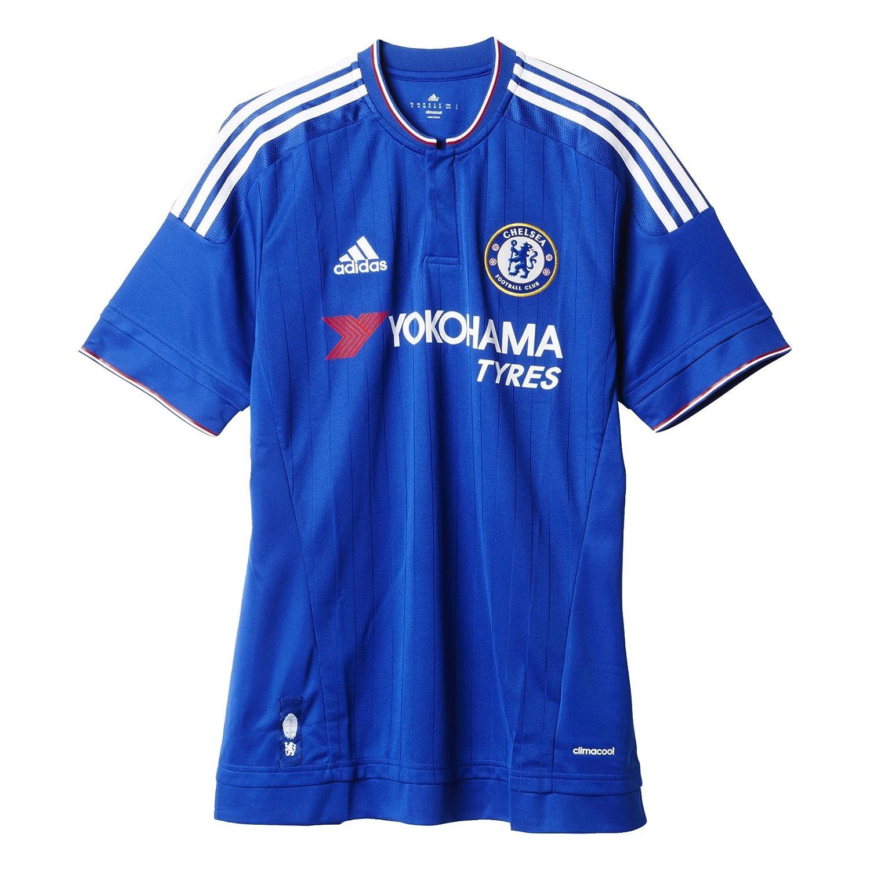 Amazon.com : Adidas Mens Chelsea Home Replica Soccer Jersey : Sports &  Outdoors