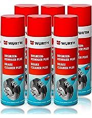 Genuine Wurth freno limpiador disolvente en aerosol spray 500ml x1–x96