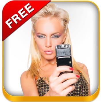 Naked selfie app