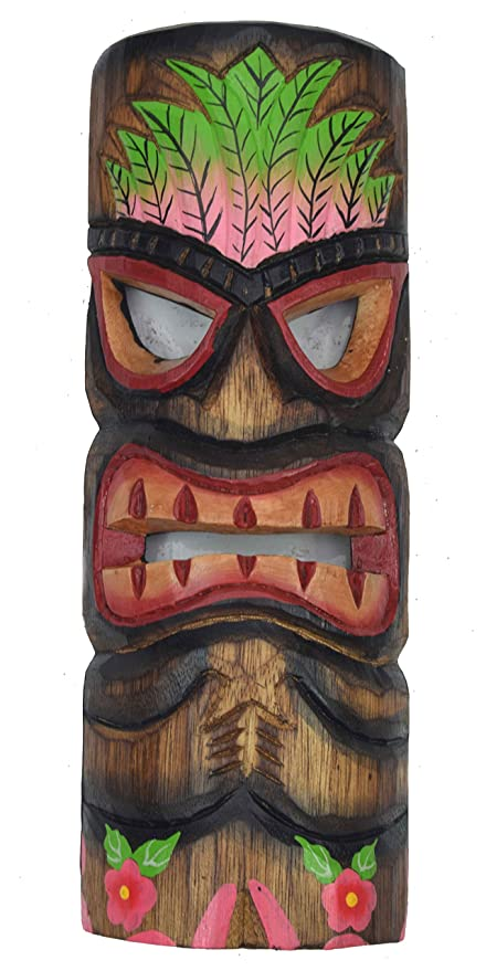 Tiki Máscara 30 cm en Hawaii Style pared Máscara Máscara ...