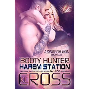 Booty Hunter: Sci-Fi Alien Romance (Harem Station Book 1)