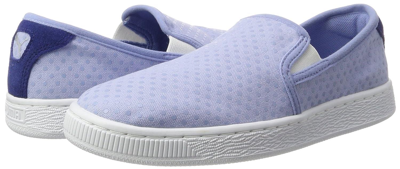 Puma Damen Basket Slip on Denim WN's Sneakers, Blau (Lavendar Lustre-Twilight Blue 02), 37.5 EU