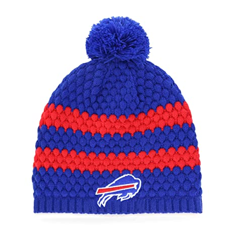 3d7b5574ec9 Amazon.com   OTS NFL Buffalo Bills Female Winona Bravo Beanie Knit ...