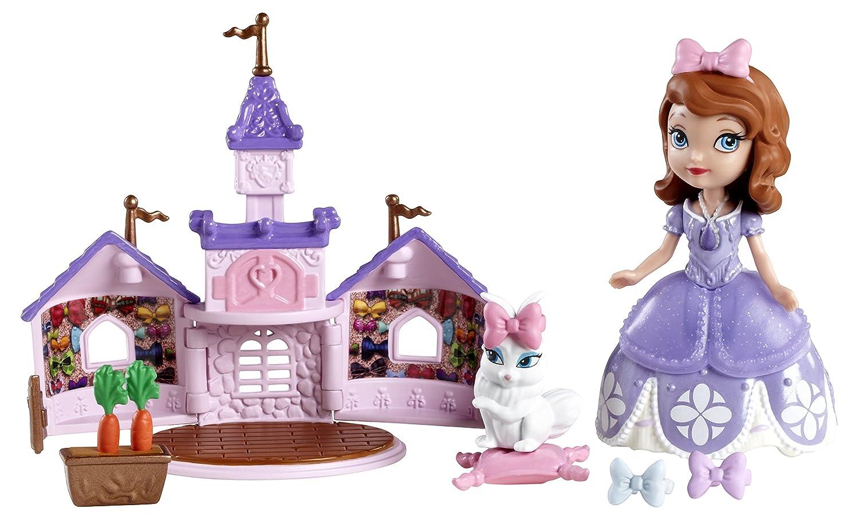 Disney Princesse Sofia et lapin blanc dans son chateau BDK53