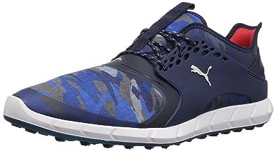 Puma Golf Hombre Ignite Pwrsport camuflaje Golf Golf Golf Zapatos  Peacoat/Plata, 10.5 e1758e