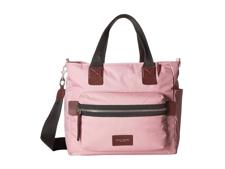 [マークジェイコブス] Marc Jacobs レディース Nylon Biker Babybag マザーバッグ [並行輸入品] B01N78G2FM Pink Fleur