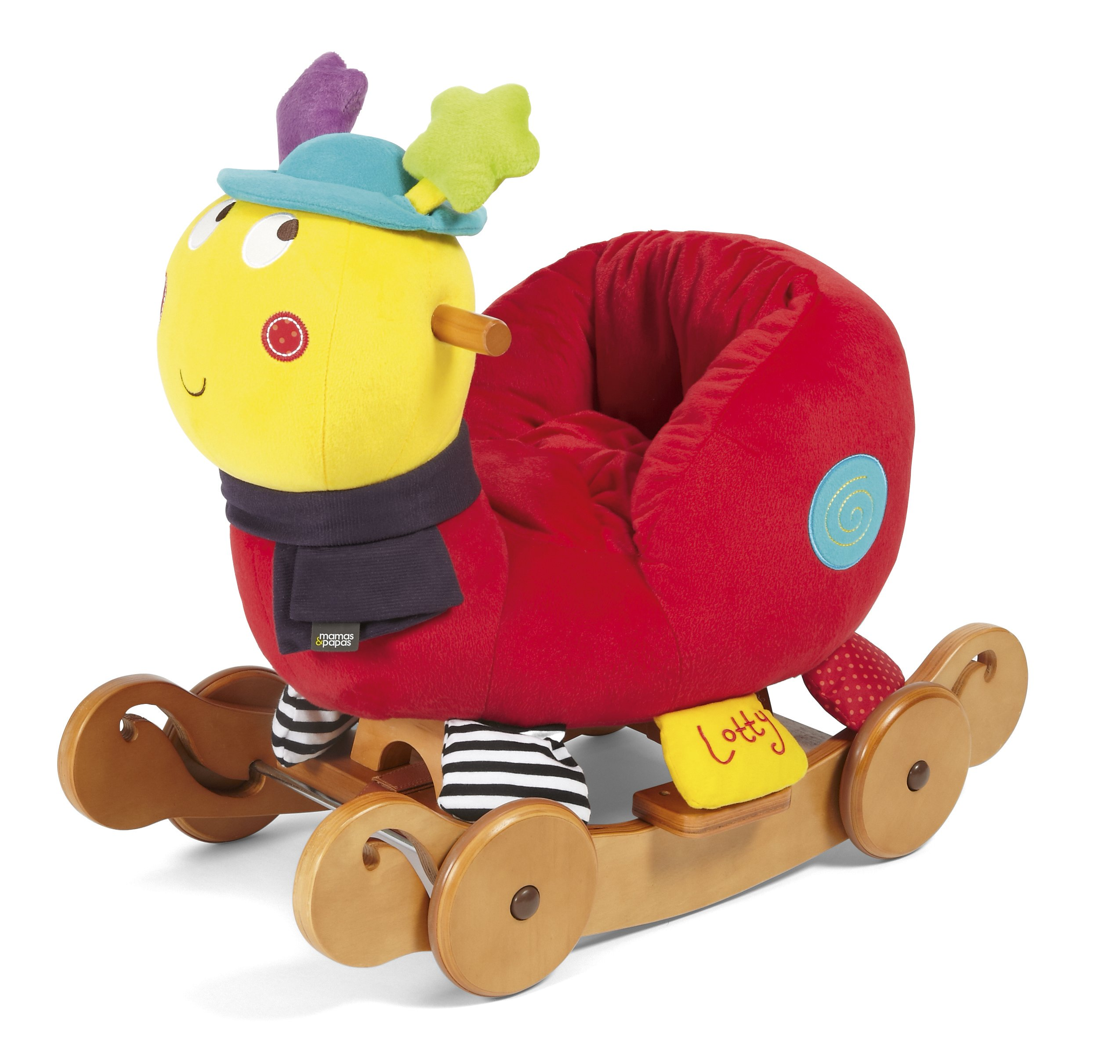 Mamas & Papas Baby Play - Lotty Rock & Ride