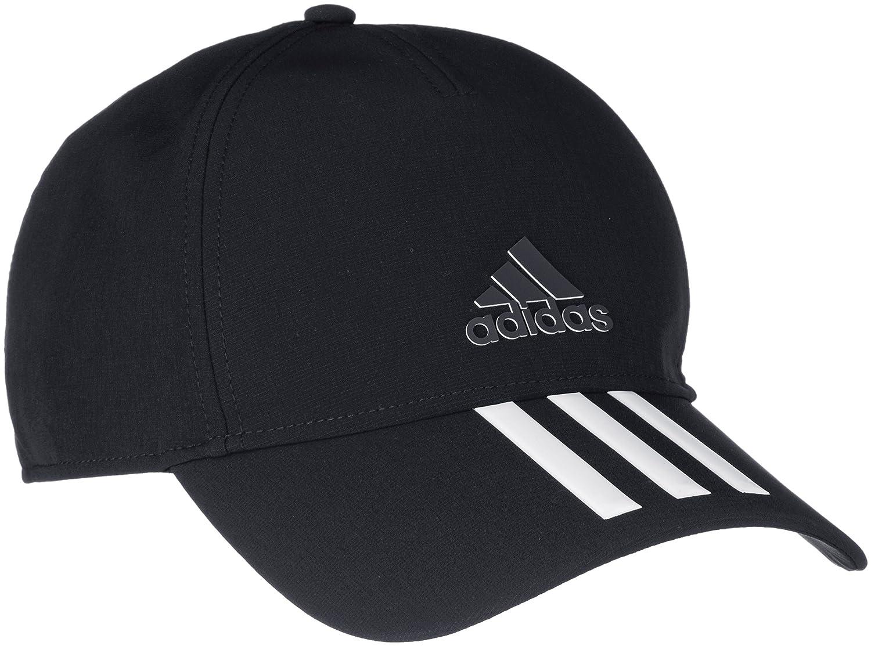 9bd0cd1ba51 Adidas CG1784 C40 3-Stripes Climalite Cap - Black White Black Black Blck