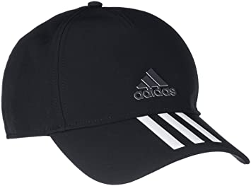 Adidas CG1784 C40 3-Stripes Climalite Cap - Black White Black Black ... 705b4ccaaf42