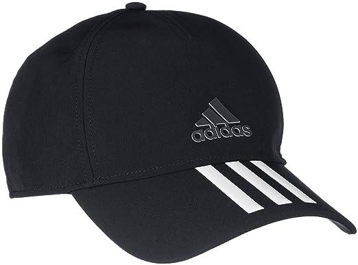 539795b823c adidas Hat Training C40 3-Stripes Climalite Cap Fashion Logo Black New  CG1784 (OSFM