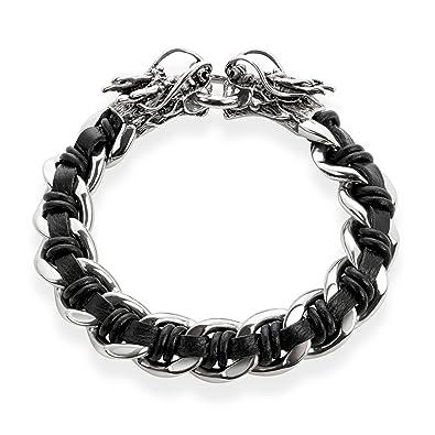 1175518de22e2 Amazon.com: Crucible High Polished (16 mm) Stainless Steel Black ...