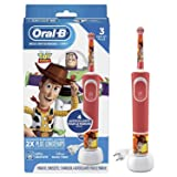 Oral-b Kids Electric Toothbrush Featuring Disney Pixar Toy Story, for Kids 3+