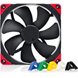 Noctua NF-A14 PWM chromax.Black.swap, Premium Quiet Fan, 4-Pin (140mm, Black)