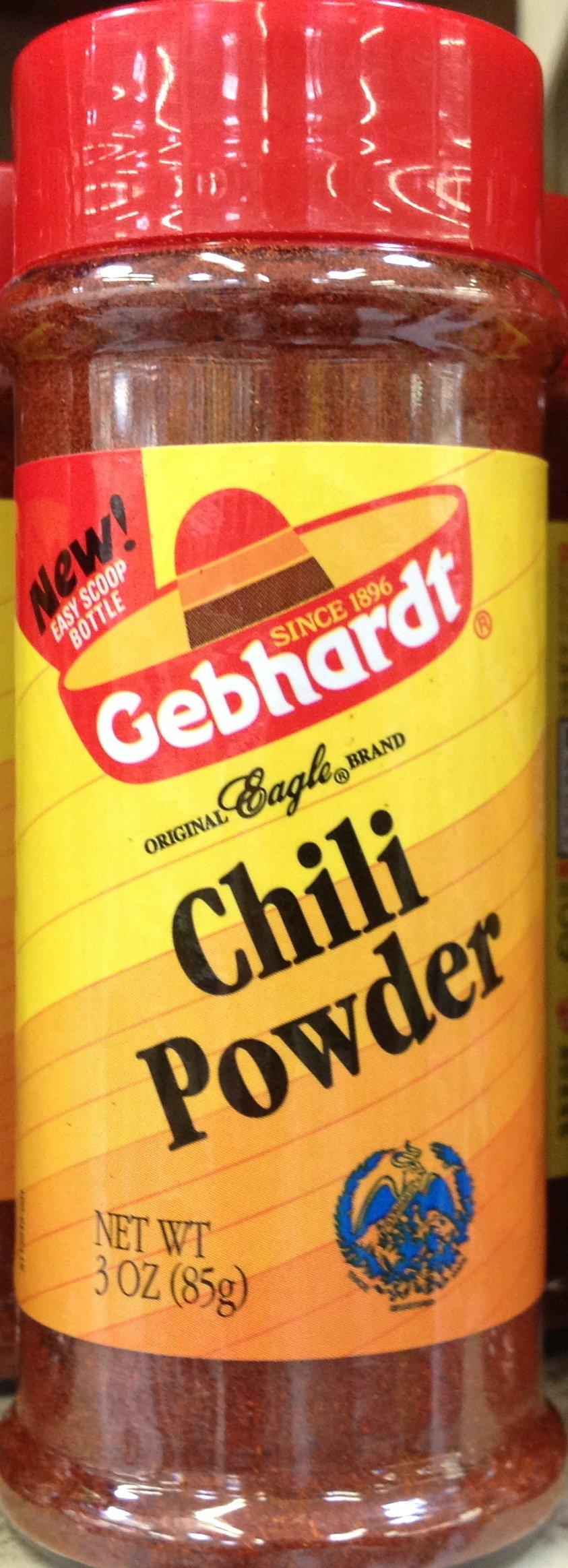 Gebhardt CHILI POWDER 3oz (9 Pack)