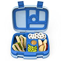 Bentgo Kids Childrens Lunch Box - Bento-Styled Lunch Solution Offers Durable, Leak-Proof...