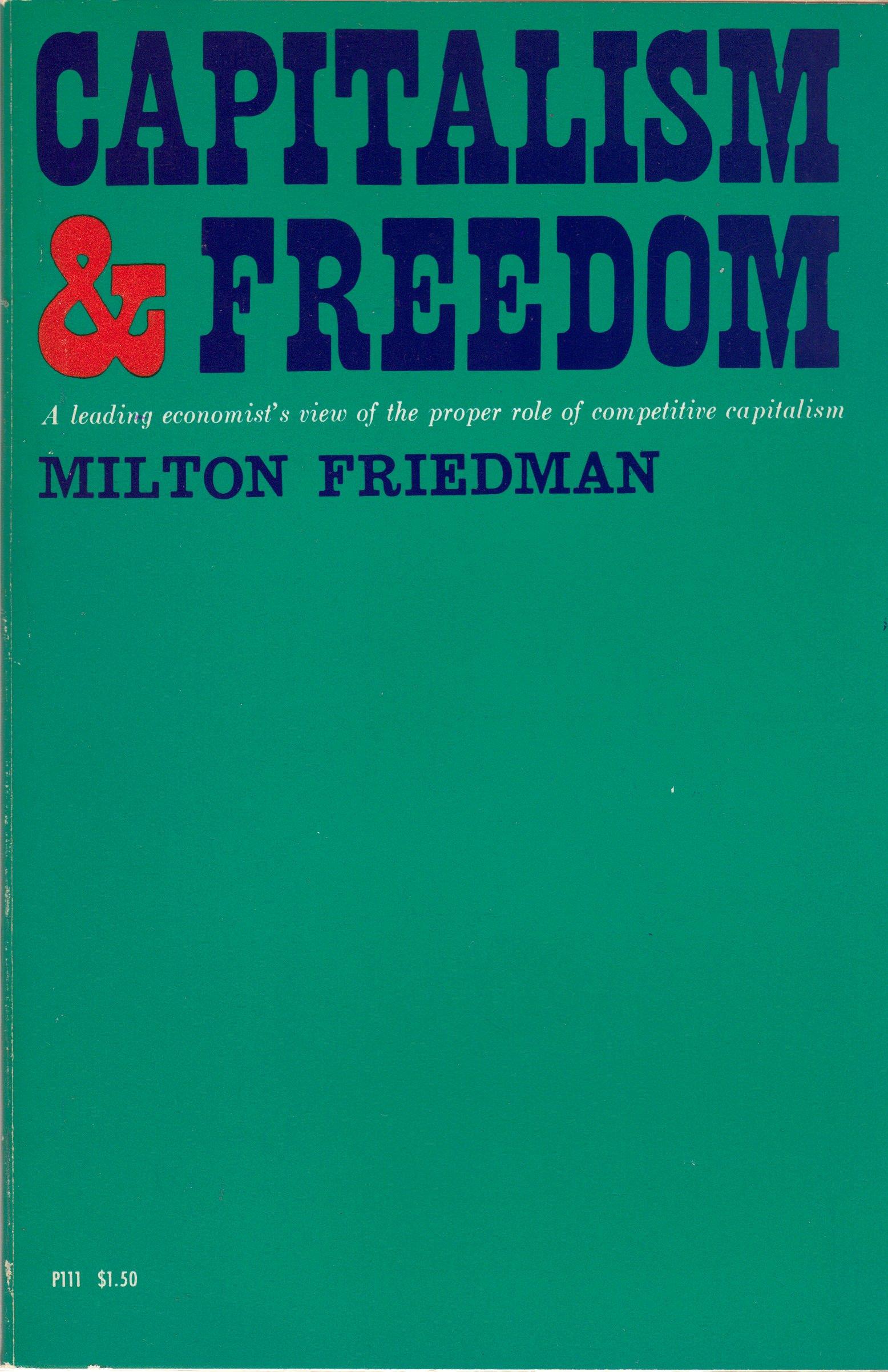 Capitalism Freedom Leading Economists Competitive product image