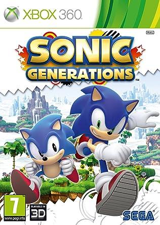 SEGA Sonic Generations, Xbox 360 Xbox 360 vídeo - Juego (Xbox ...
