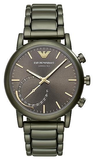 Emporio Armani Reloj Analogico para Hombre de Cuarzo con Correa en Acero Inoxidable ART3015