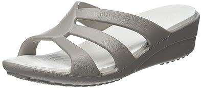 Crocs Womens Sanrah Strappy Wedge, Size: 4 B(M) US Womens,