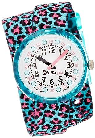 Turquoise Jubatus Flik Flak Watch Fpnp008 dhQtrCs