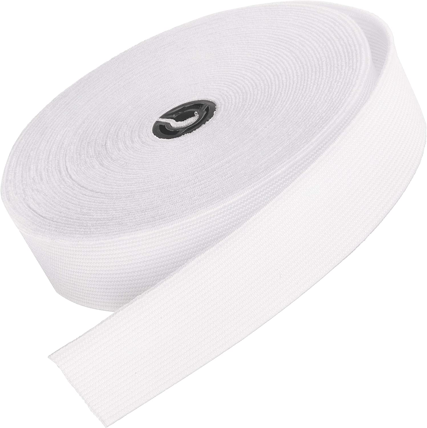 6 cord ELASTIC WHITE CRAFTS SEWING DRESS MAKING 15 METRE  free postage New