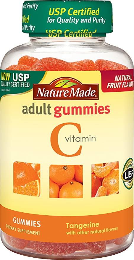 Vitamina C Gummies edad, mandarina, 80 Gummies - Nature Made