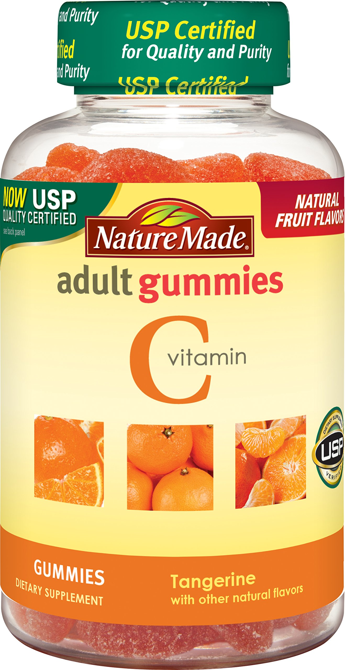 Nature Made Vitamin C Adult Gummies (250 mg  per serving) 80 Ct