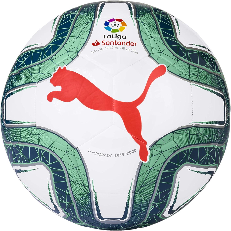 PUMA La Liga 1 MS 2019/20 Training Ball Soccer Ball Size 5: Amazon ...