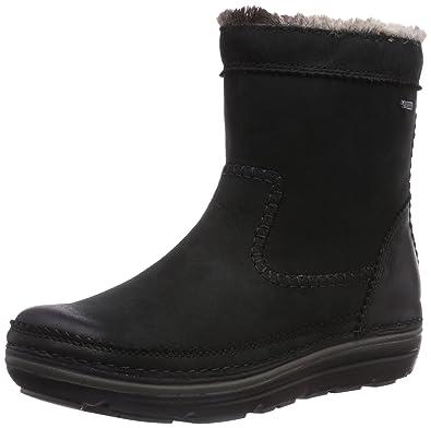 Clarks Nelia Dora Gtx, Boots femme Noir, 35.5 EU: Amazon