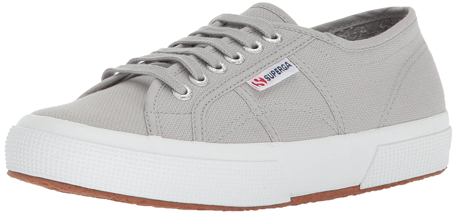Superga Women's 2750 Cotu Sneaker B06XY4MKMV 37.5 M EU / 7 B(M) US|Light Grey