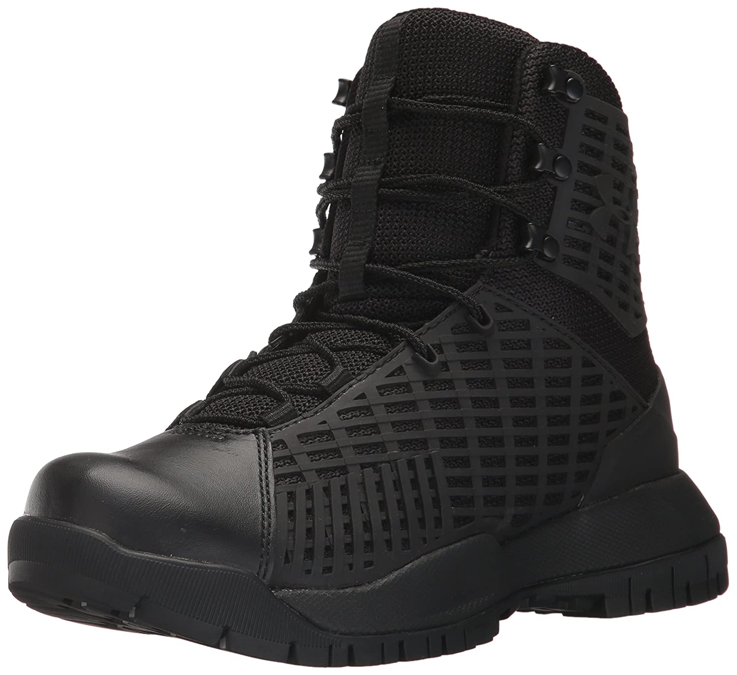 Under Armour Women's Stryker Military and Tactical Boot B01MQKF264 9.5 M US|Black (001)/Black