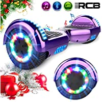 "RCB Hoverboard 6.5"" Overboard Patinete Eléctrico con LED"