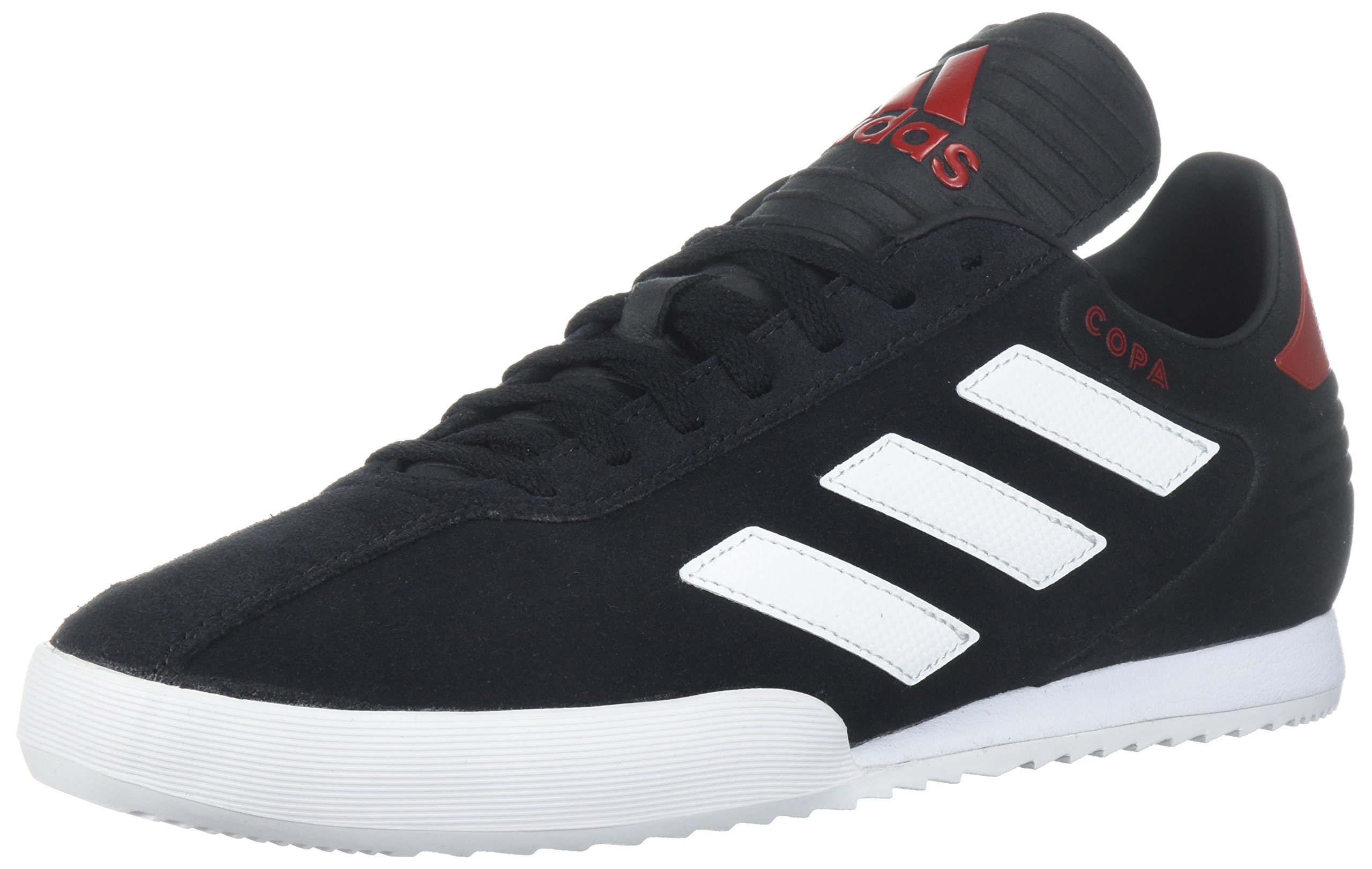 adidas Men's Copa Super Soccer Shoe, Black/White/Power Red, 10.5 M US by adidas