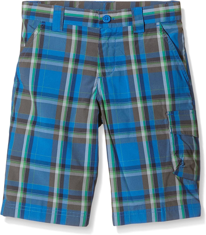 Columbia Boys Silver Ridge III Karierte Shorts