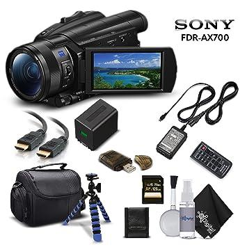 Amazon.com: Sony Handycam fdr-ax700 4 K HD cámara de vídeo ...