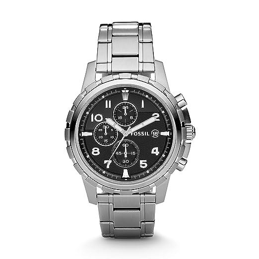 Fossil FS4542 - Reloj (Reloj de Pulsera, Masculino, Acero Inoxidable, Acero Inoxidable