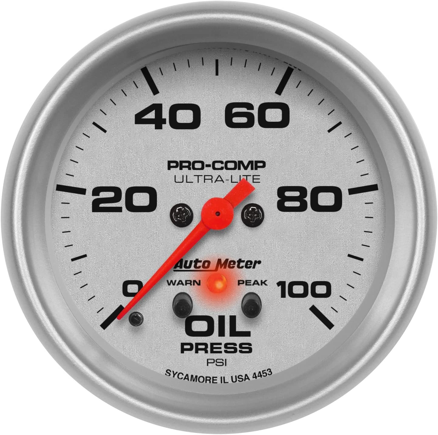 Auto Meter 4310 Ultra-Lite Electric Programmable Fuel Level Gauge