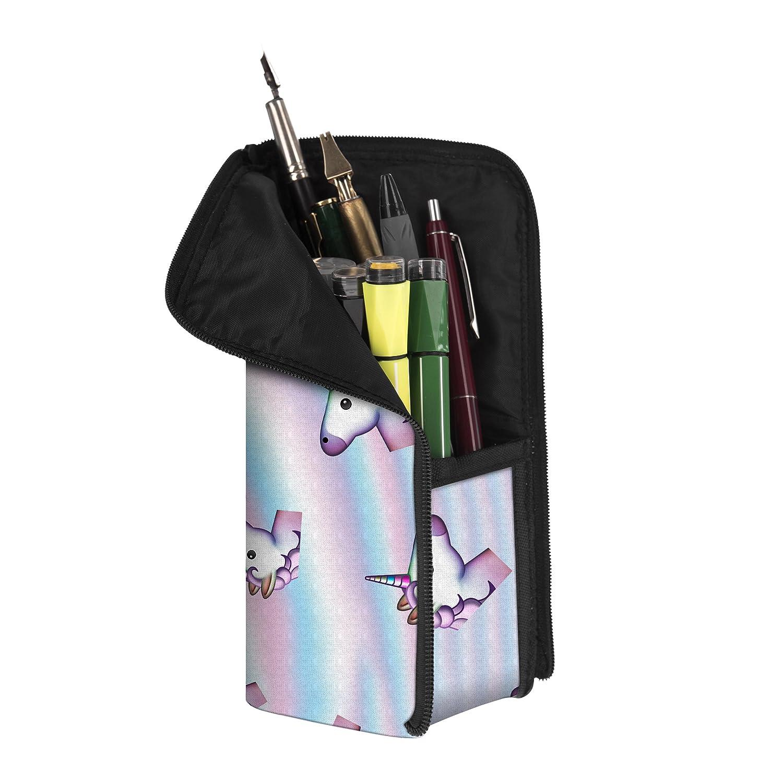 Fringoo - Estuche para útiles escolares (diseño unisex), color Holo Unicorn - Transformer: Amazon.es: Oficina y papelería