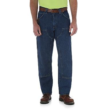 71fcb7d6e2a761 Wrangler RIGGS WORKWEAR Men's Utility Jean at Amazon Men's Clothing store:  Cargo Jeans