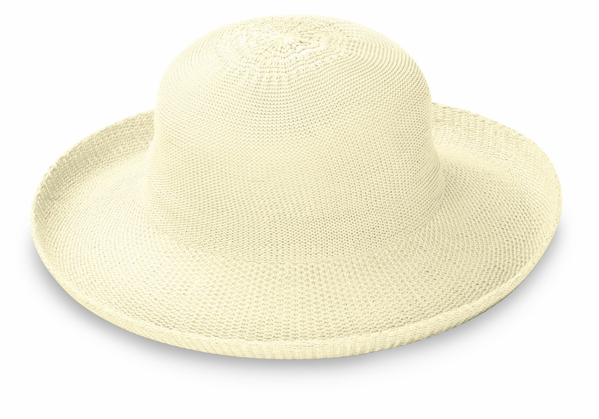 Wallaroo Hat Company Women's Victoria Sun Hat - Lightweight and Packable Hat, Natural