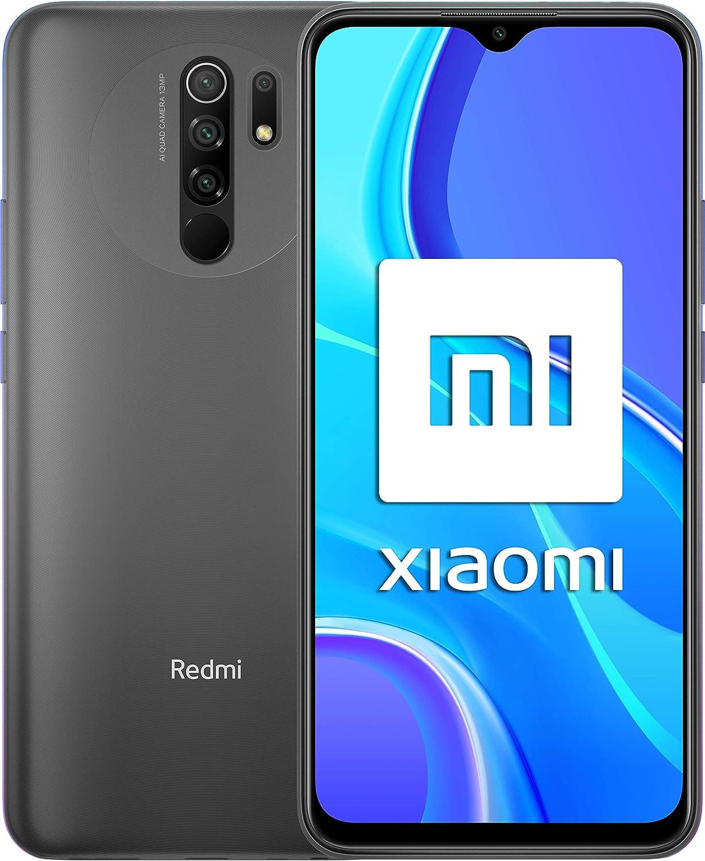 """Redmi 9 Samartphone - 4Gb 64Gb Ai Quad Kamera 6.53"""" Full Hd + Display 5020Mah"""
