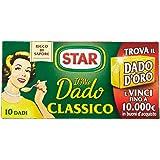 Star - Dado Classico, Ricco di Sapore, Verdure e Olio Extravergine d'Oliva - 6 confezioni da 10 dadi [60 dadi]