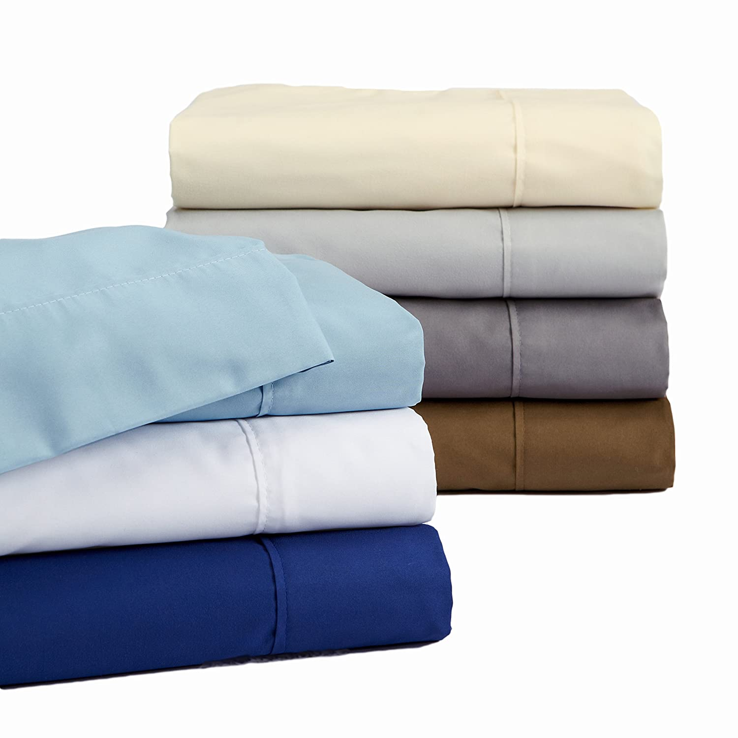 Claudette Collection Egyptian Quality Double Brushed Microfiber Sheet Set