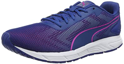 2bda16e542 Puma Women's Engine WNS True Blue-Ultra Magenta and Running Shoes-4 ...
